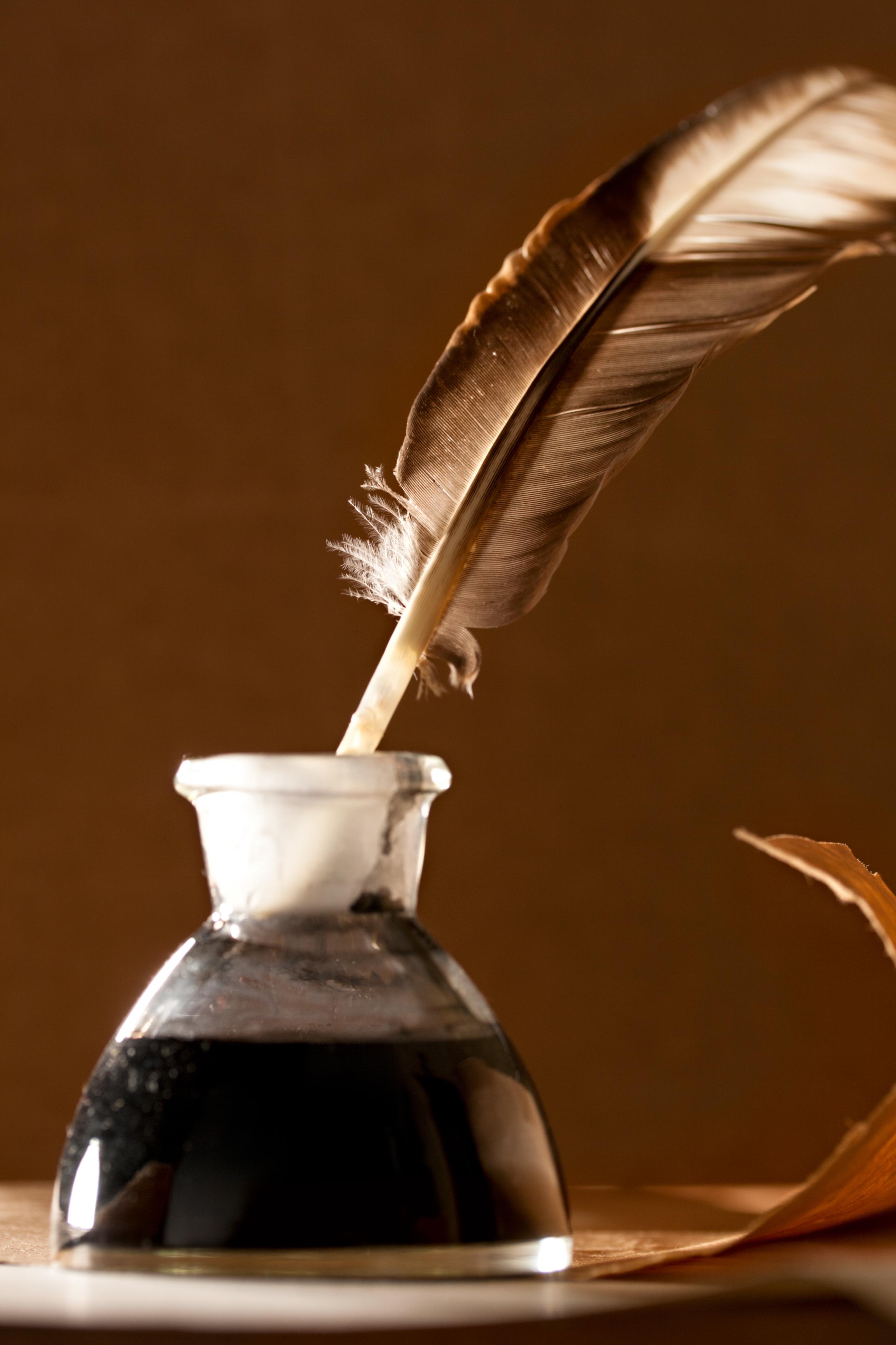 Как сделать чернил для пера
